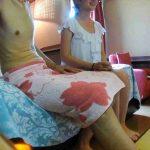 内緒でデリヘル盗撮 Vol.02前編 人気No.1手こき嬢を内緒で・・・。 丸見え | 細身女性  60画像